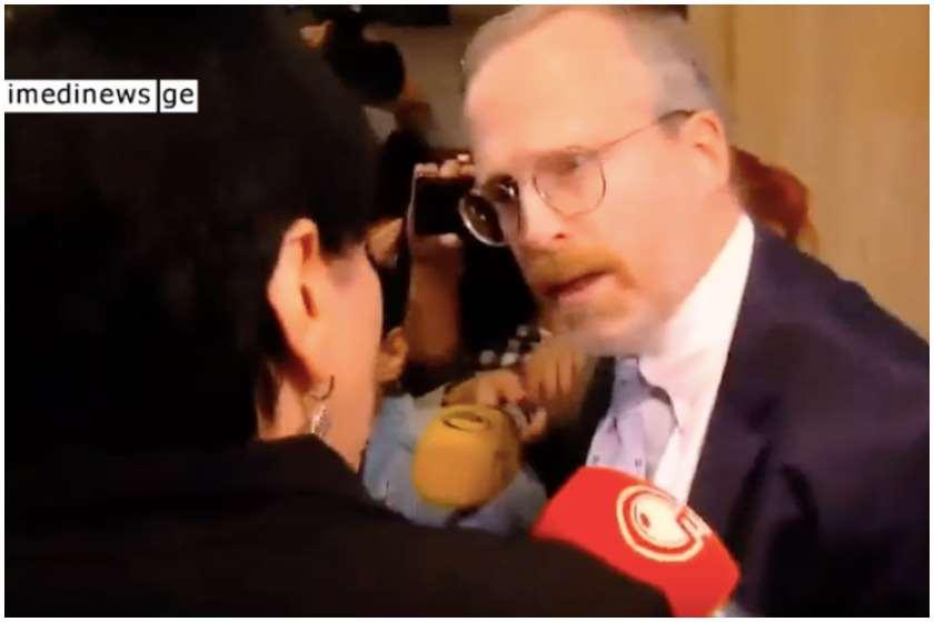 ირმა ინაშვილი დევიდ კრამერი