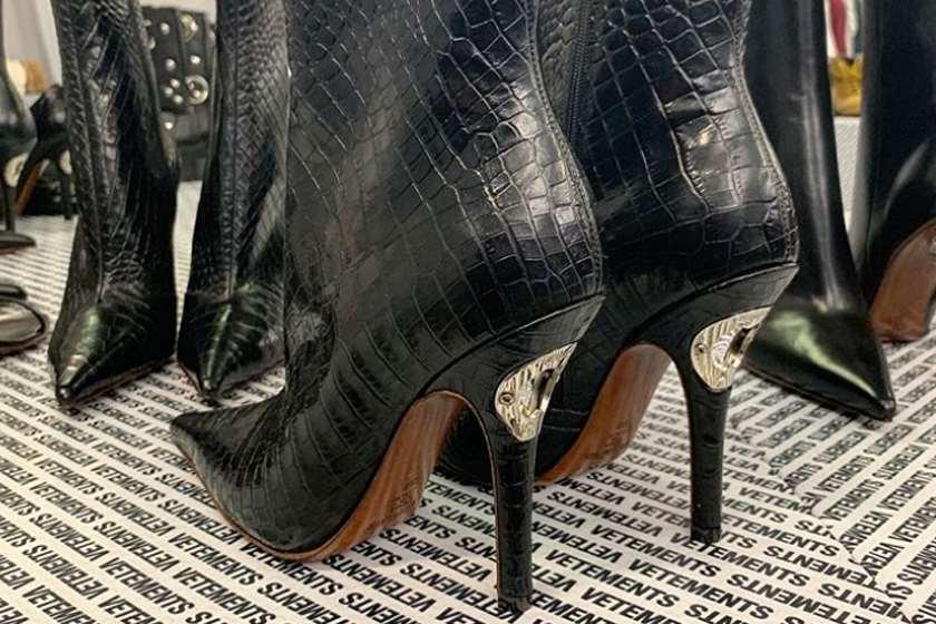 დემნა გვასალიას ფეხსაცმელი