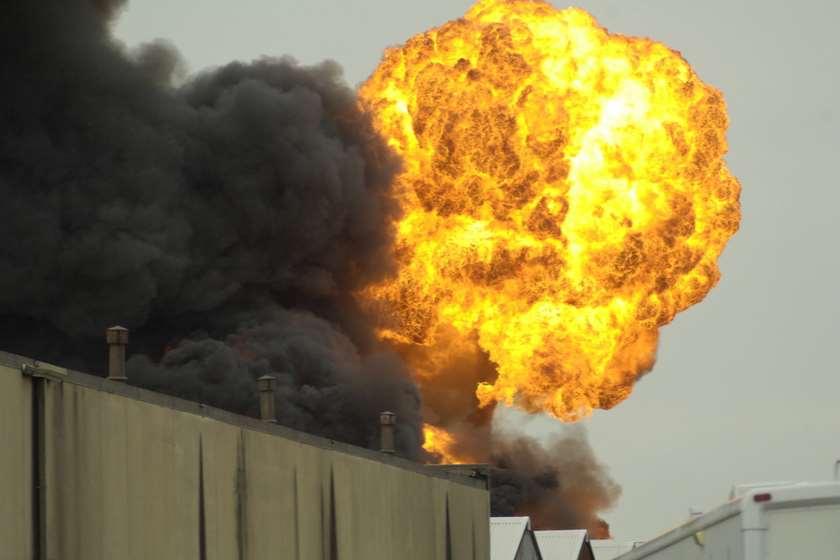 თურქეთი, აფეთქება ქიმიურ ქარხანაში