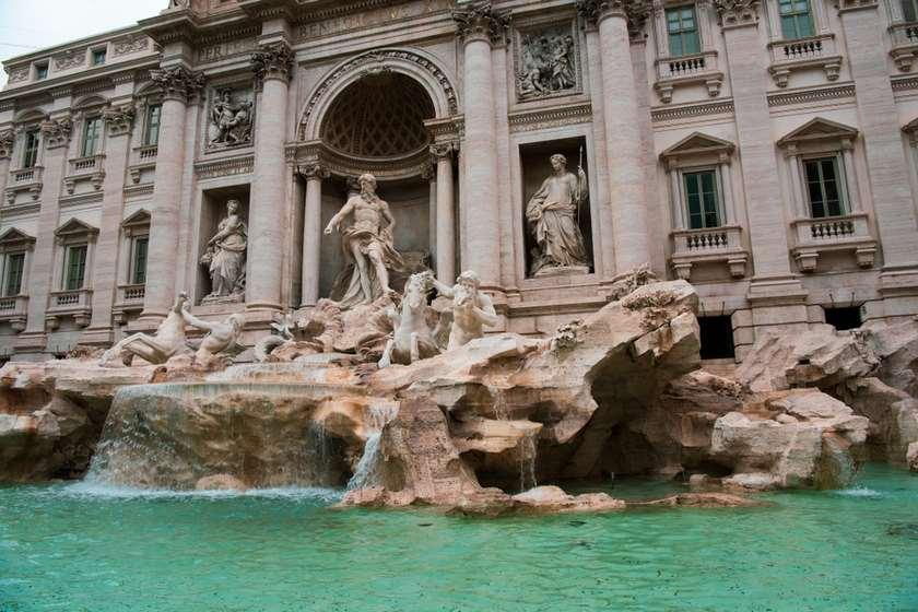 რომი, ტრევის შადრევანი.