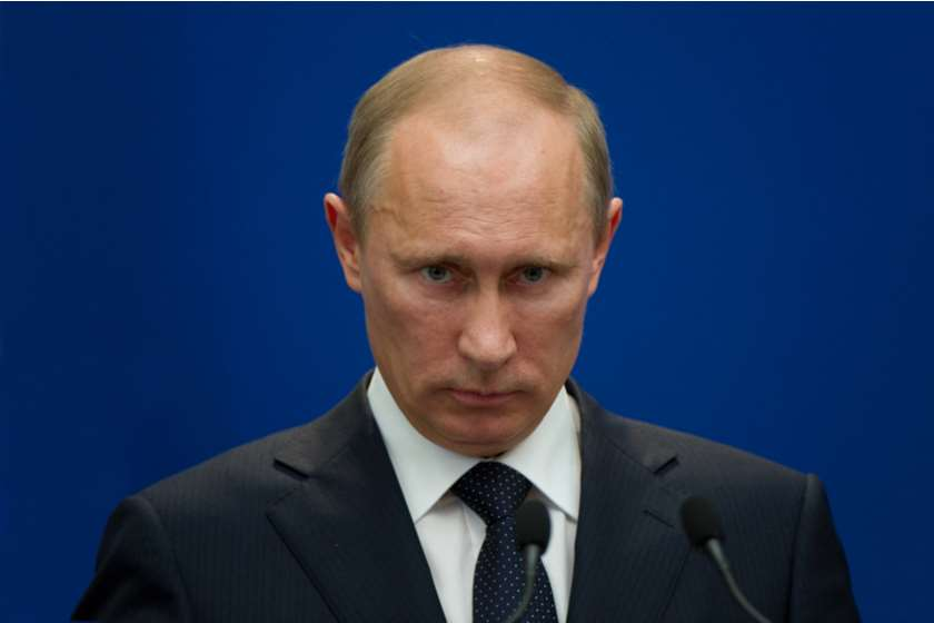ვლადიმერ პუტინი რუსეთის პრეზიდენტი