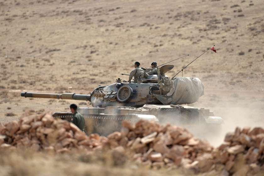 თურქეული ჯარი სირიაში