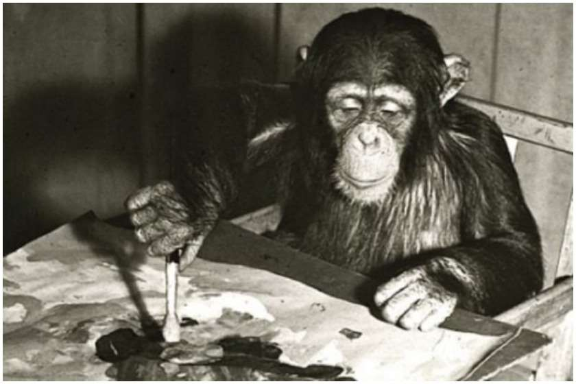 შიმპანზე კონგო, ლონდონის ზოოპარკი