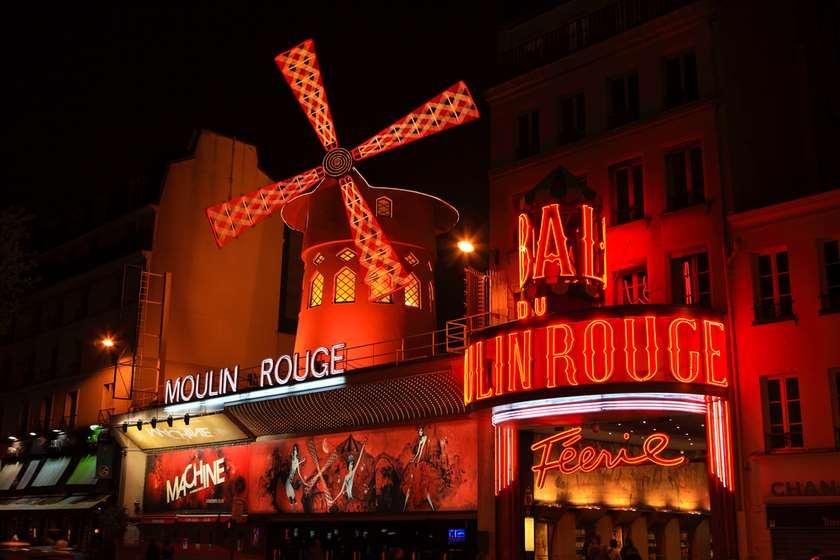 პარიზი, Moulin Rouge