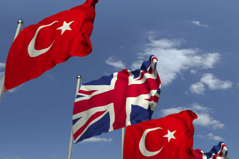 დიდი ბრიტანეთი თურქეთი დროშები