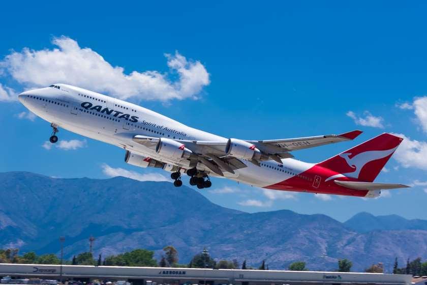 Qantas თვითმფრინავი