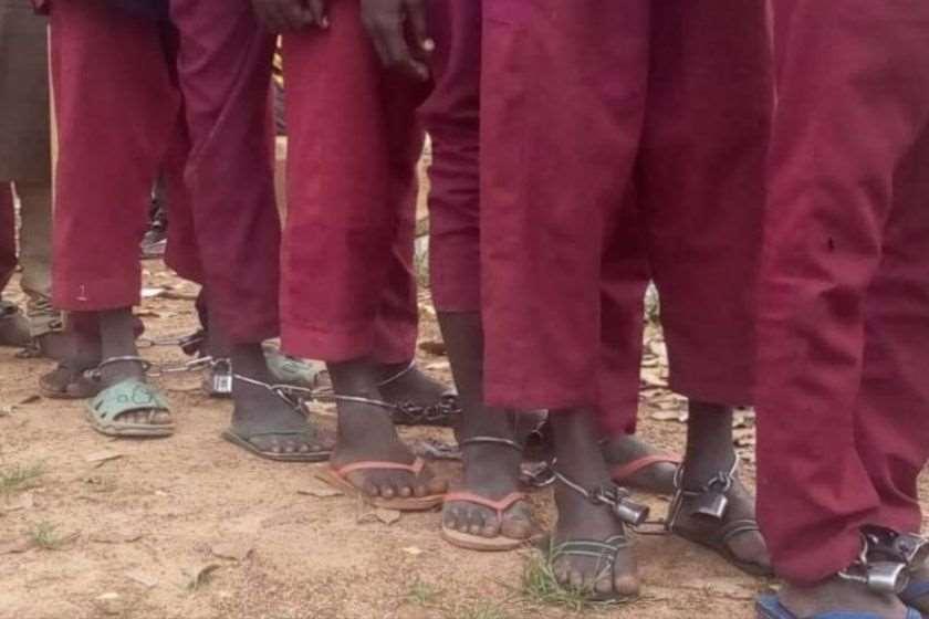 ნიგერია ნაწამები ბავშვები