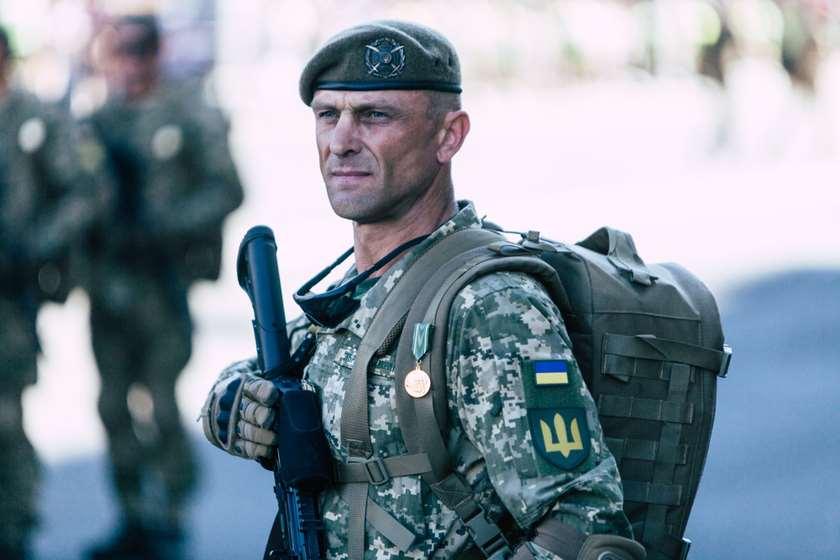უკრაინელი ჯარისკაცი