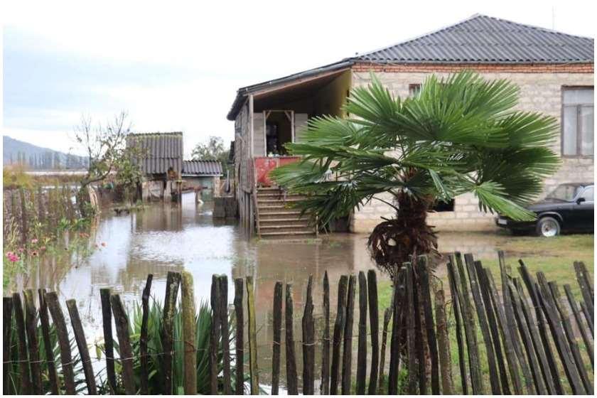 სოფელი მთისძირი სტიქიამ დააზარალა