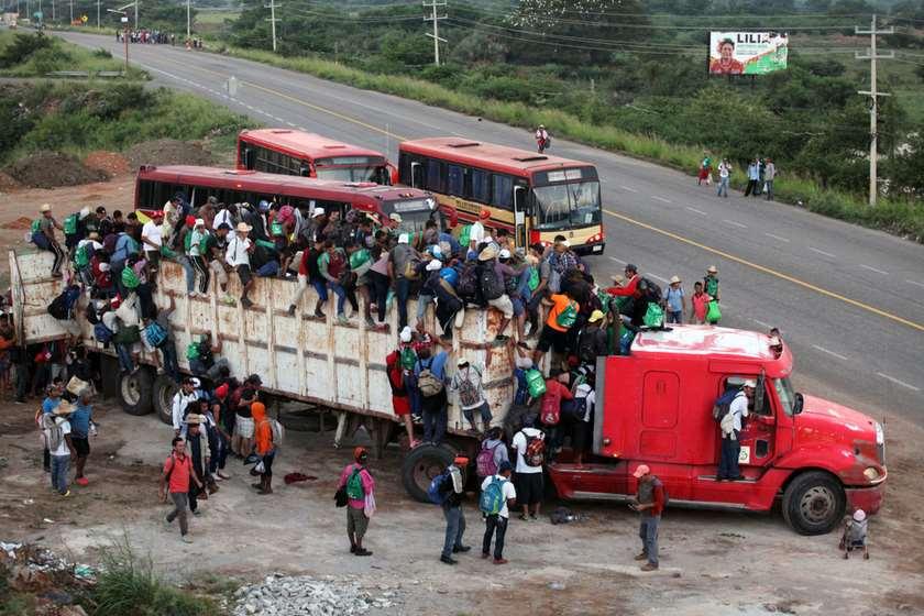 მექსიკა, ლტოლვილები