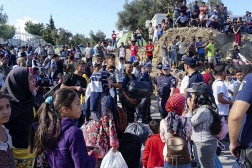 მიგრანტთა ბანაკი საბერძნეთში