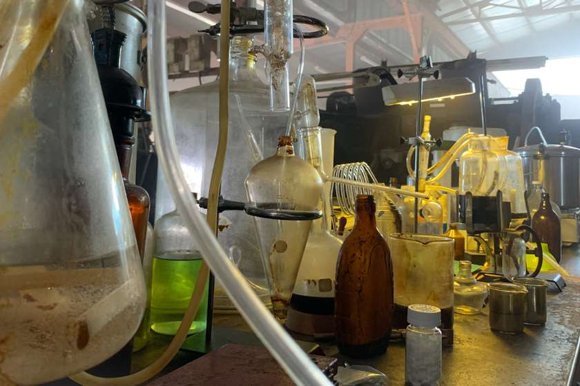 მეტამფეტამინის ლაბორატორია