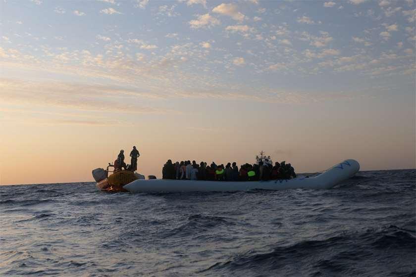 მიგრანტები ხმელთაშუა ზღვა