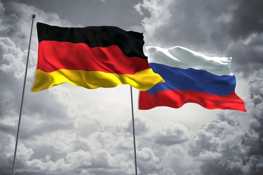 გერმანია რუსეთი დროშები