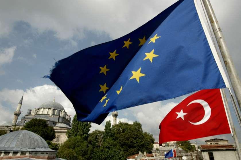 ევროკავშირი თურქეთი დროშები