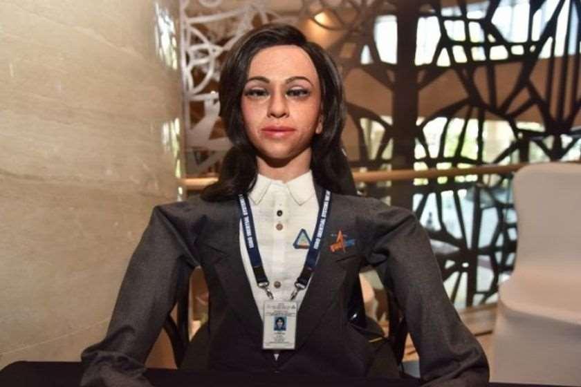 ინდოეთი რობოტი-ასტრონავტი