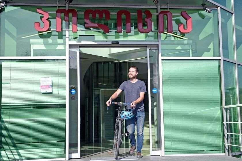 როუან კემპბელი ველოსიპედი