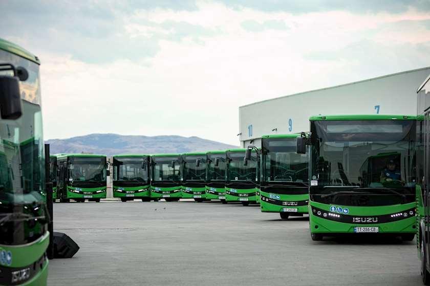 ახალი ავტობუსები