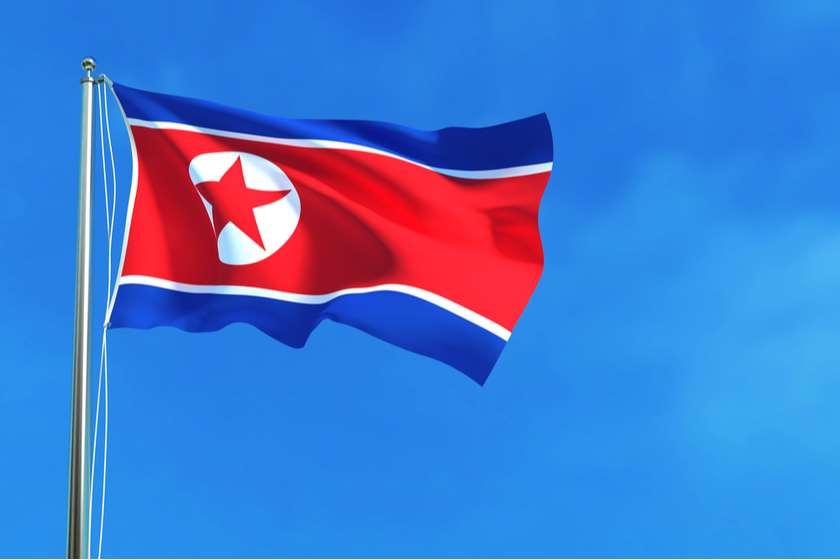 ჩრდილოეთ კორეა დროშა