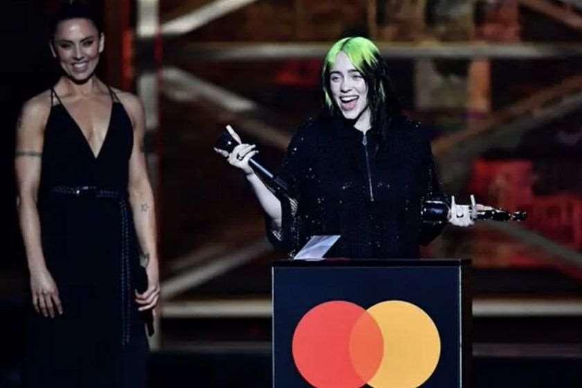 ბილი აილიში Brit Awards