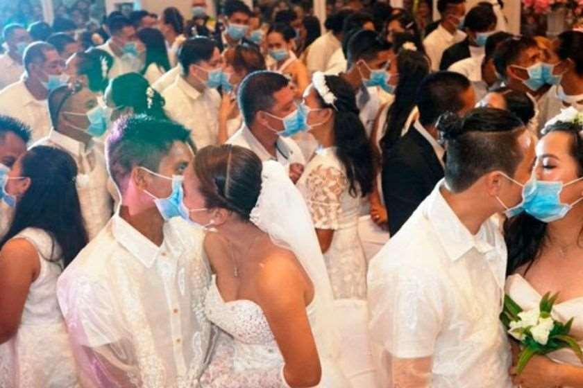 მასობრივი ქორწილი ფილიპინები პირბადეები