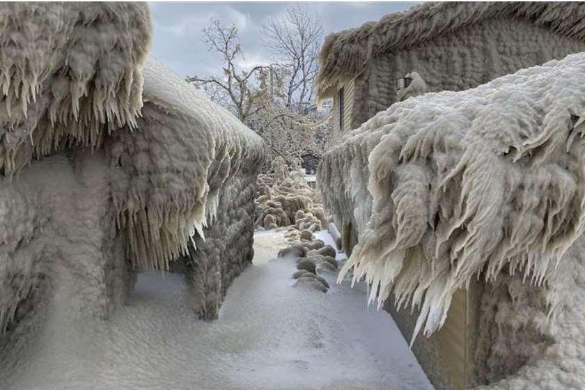ყინული სახლები