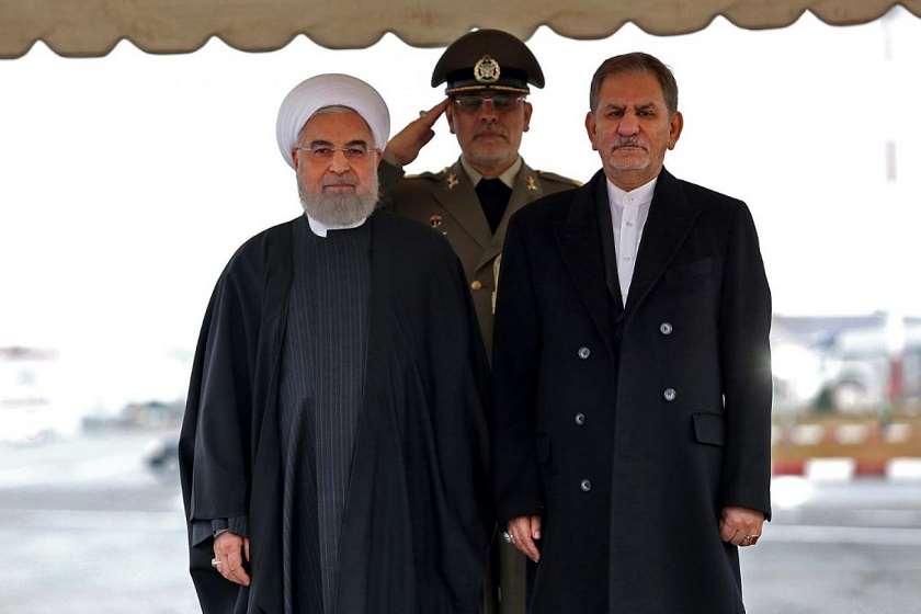 ირანის პრეზიდენტი და პირველი ვიცე-პრეზიდენტი