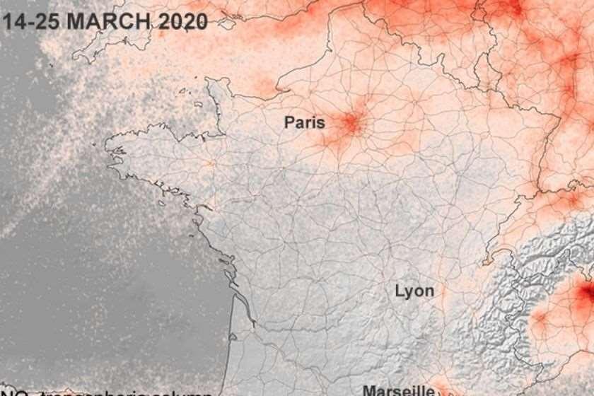 ევროპა ჰაერის დაბინძურება