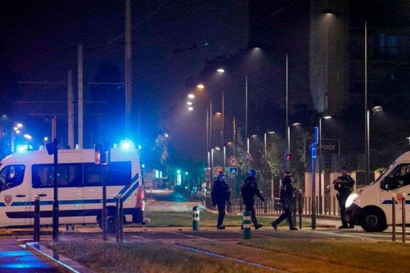 საფრანგეთი შეტაკება პოლიცია
