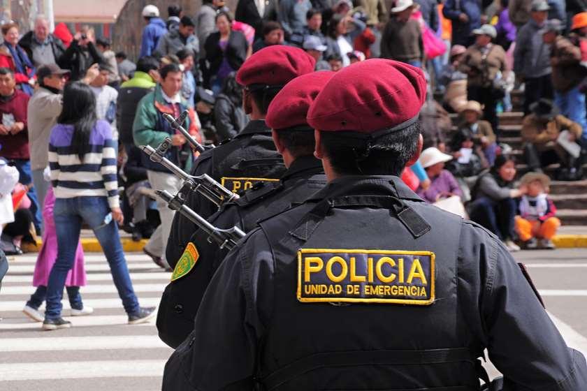 პერუ პოლიცია კორონავირუსი