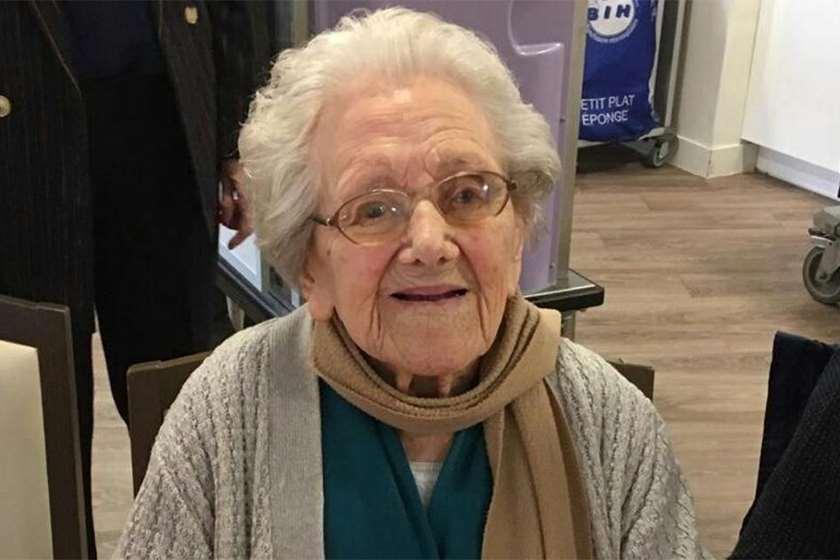 კორონავირუსი 106 წლის ქალი