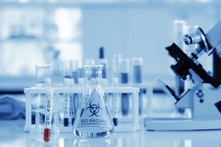 კორონავირუსი სპერმა მეცნიერბი ლაბორატორია