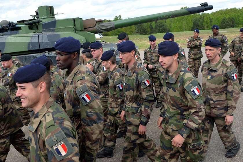 ფრანგული ჯარი