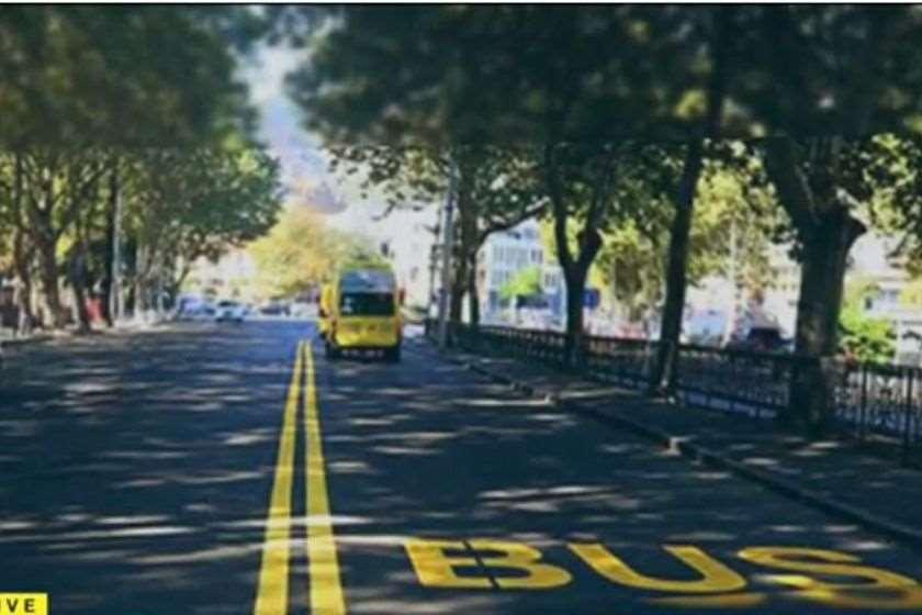 ავტობუსის ზოლი