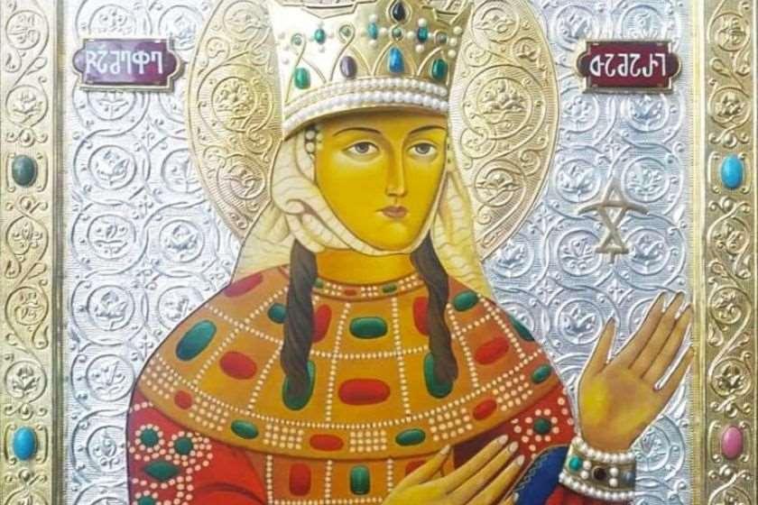 წმინდა თამარ მეფის ხატი