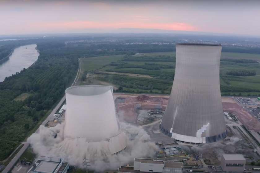 ატომური ელექტროსადგური აფეთქება