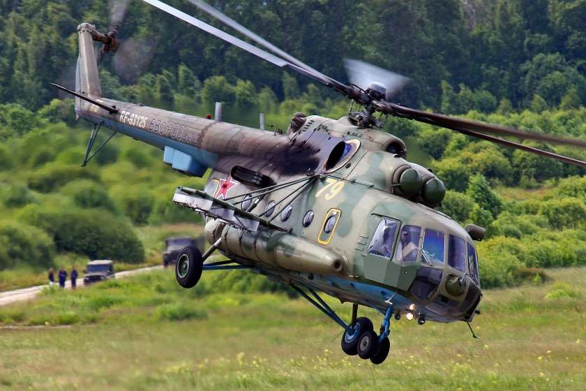 wikipedia: ვერტმფრენი Ми-8