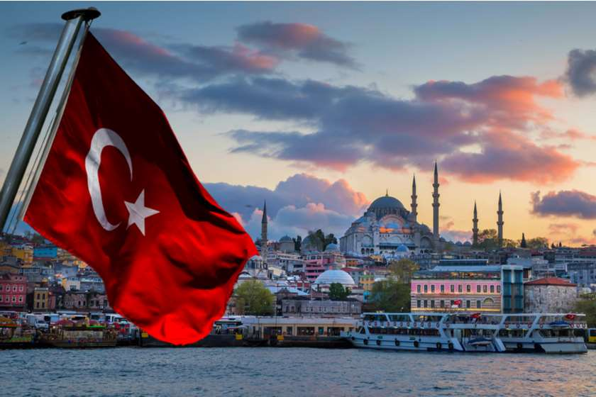 თურქეთის დროშა სტამბოლი