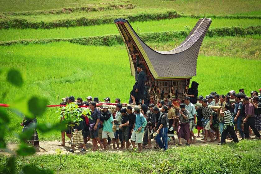 ინდონეზია დაკრძალვა