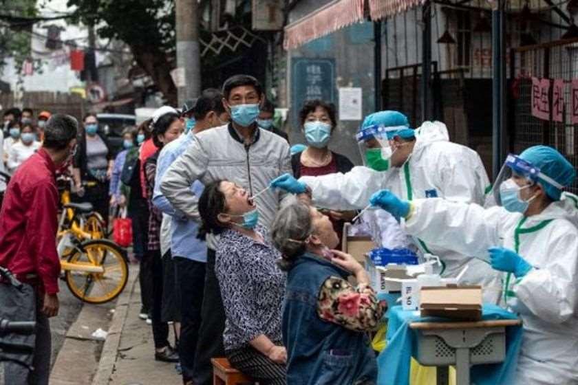 კორონავიურსი ჩინეთი ტესტირება