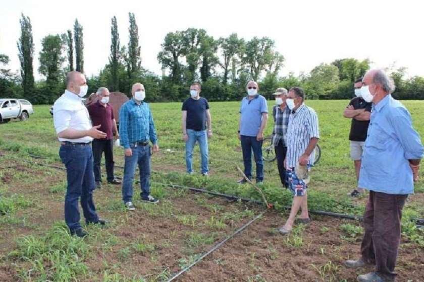შალვა კიკნაველიძის შეხვედრა ფერმერებთან