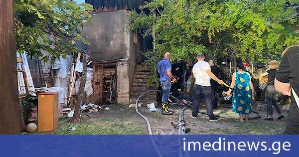 ნაძალადევში ორ საცხოვრებელ სახლში გაჩენილი ხანძარი ლიკვიდირებულია