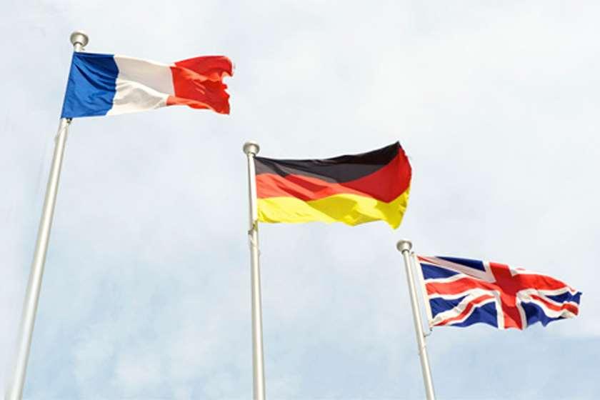 დიდი ბრიტანეთი, საფრანგეთი და გერმანია