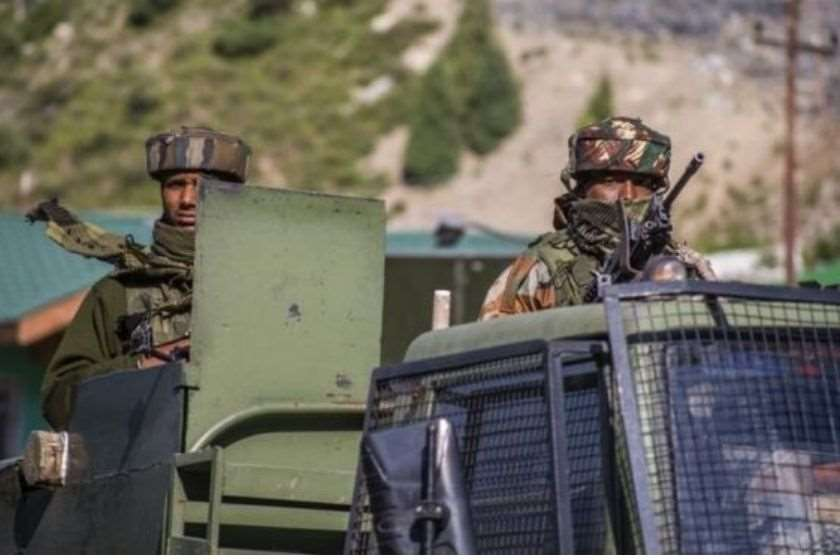 ინდოეთი ჩინეთი საზღვარი ჯარისკაცები
