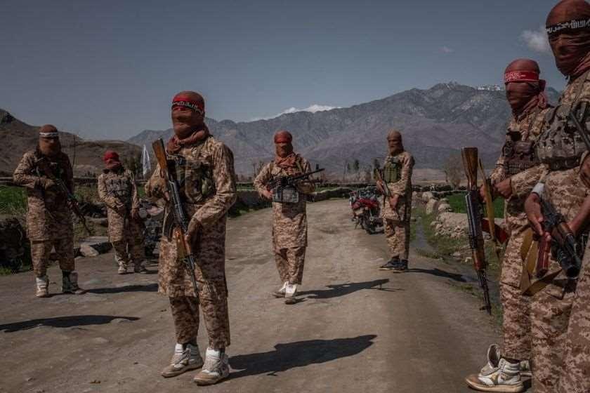 თალიბანის მებრძოლები