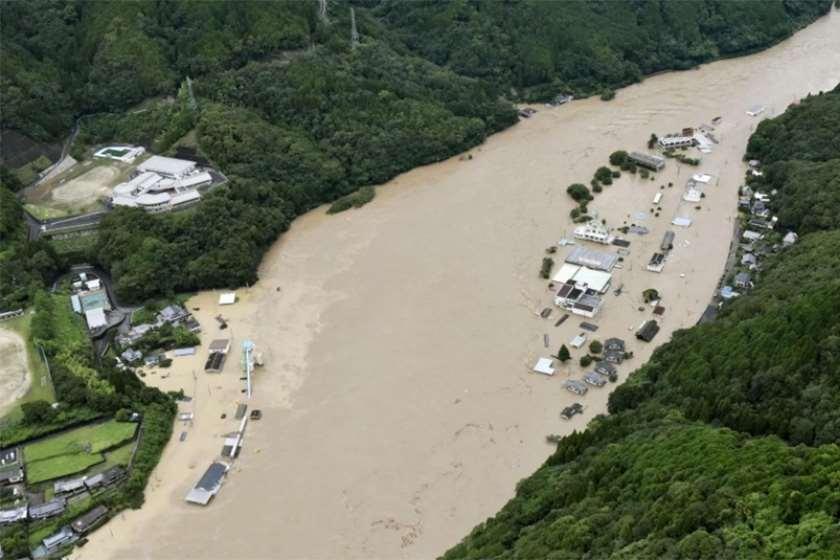 იაპონია წყალდიდობა