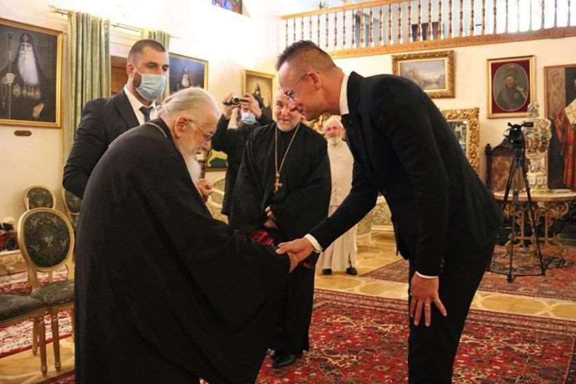 კათოლიკოს-პატრიარქი, ილია მეორე;  პიტერ სიიარტო