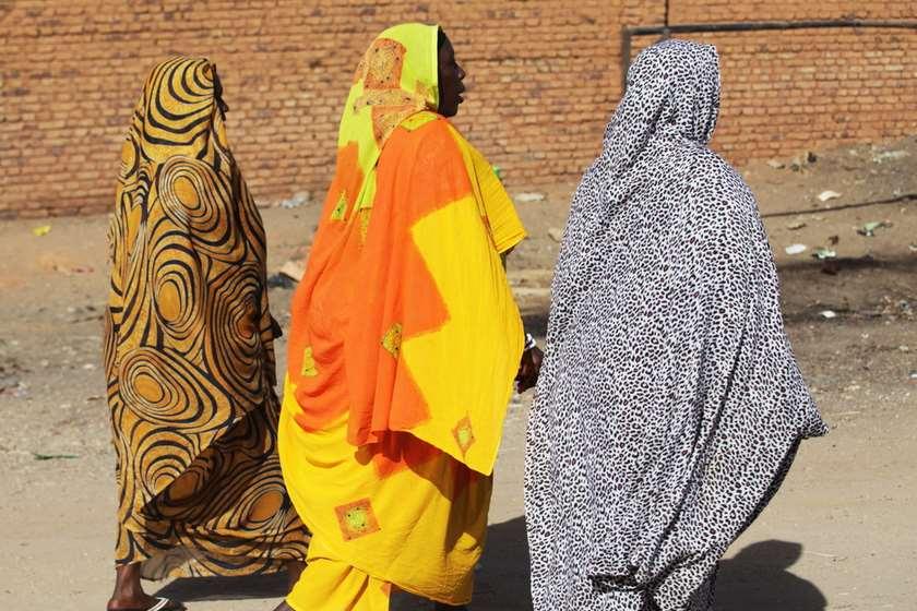 სუდანი ქალები