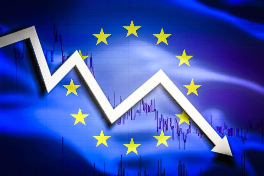 ევროკავშირი ეკონომიკა ვარდნა