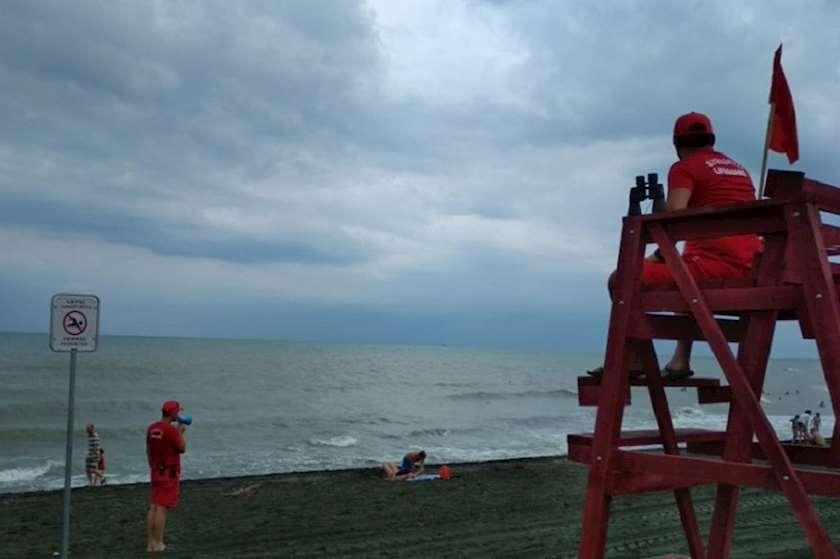 ღელვა ზღვაზე